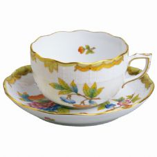 Herend VBO - Queen Victoria Teacup & Saucer